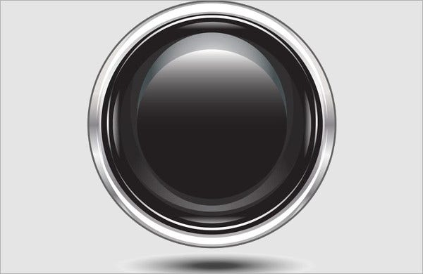black button vectors