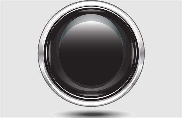 Black Button Vectors