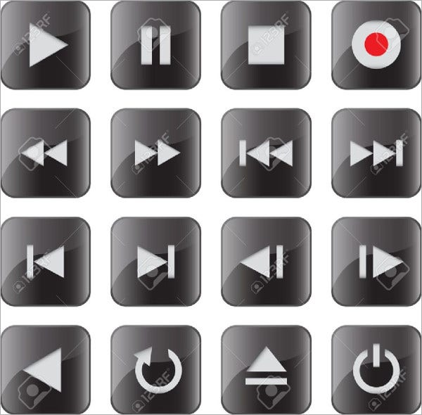 control black button