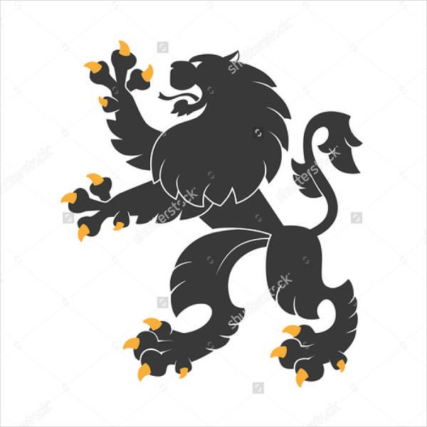 heraldic-lion-vector