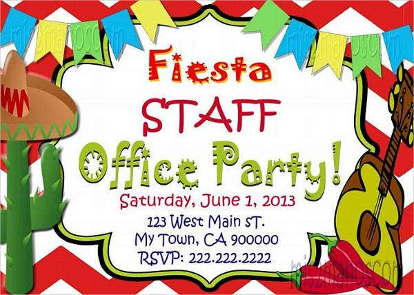 office birthday invitation email1