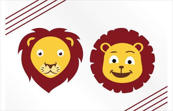 cartoon-lion-vector