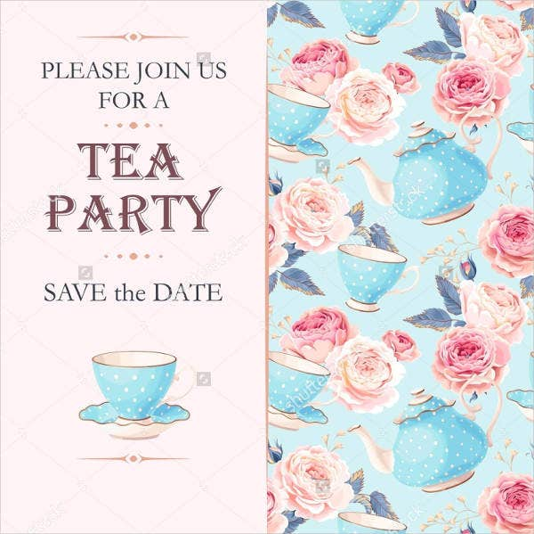 vintage party invitations 9 free psd ai vector eps format