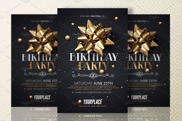 -Sample Birthday Party Invitation