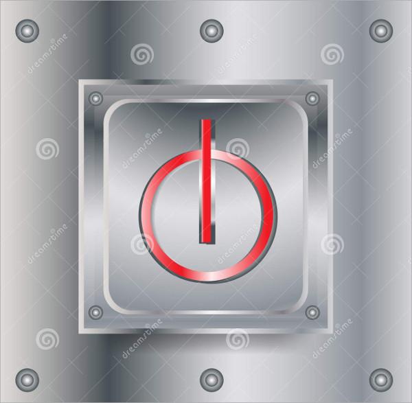 Metallic Switch Button