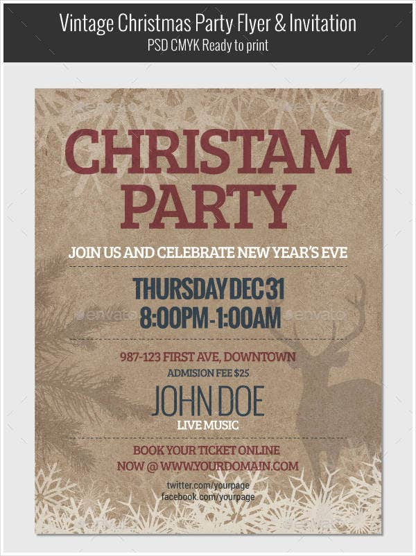 vintage-christmas-party-flyer-invitation