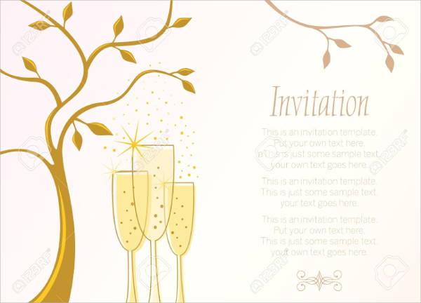 free champagne invitation