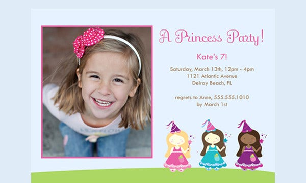 Sample birthday invitation templates free premium templates sample 7th birthday invitation card stopboris Gallery