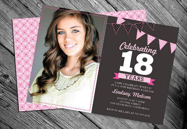 56+ Sample Birthday Invitation Templates - PSD, AI, Word ...