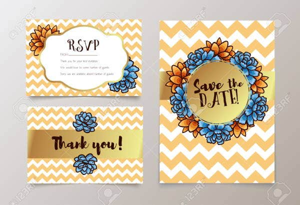 free chevron invitation template