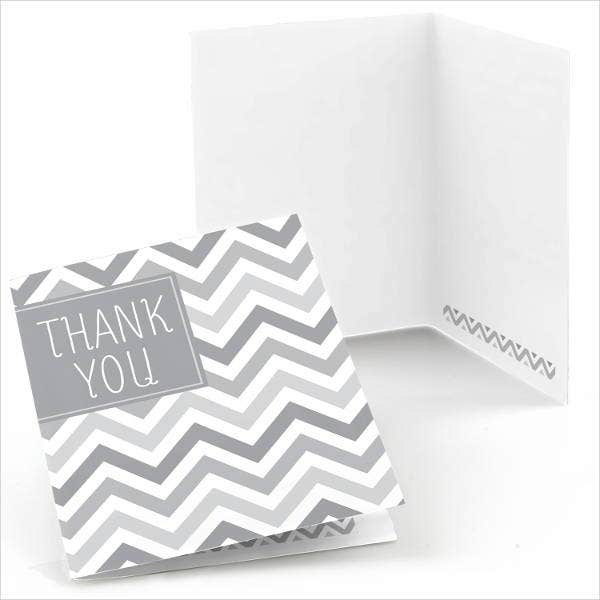 printable-chevron-thank-you-card