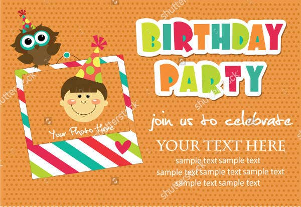kids birthday party invitation5