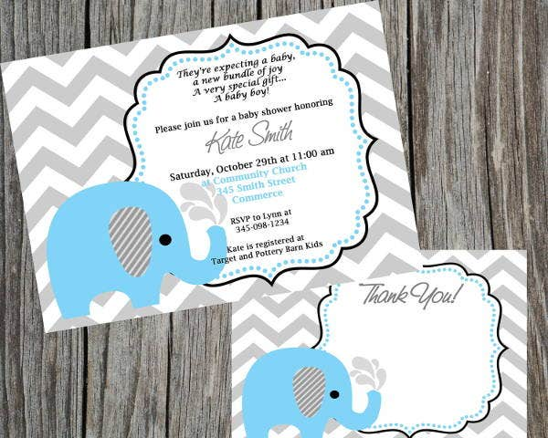 chevron-baby-shower-thank-you-card