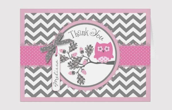 pink-chevron-thank-you-card