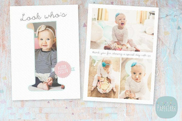 sample baby first birthday invitation