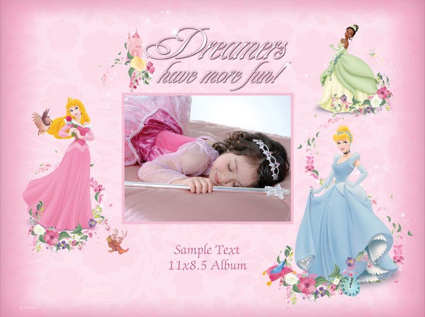 -Sample Princess Birthday Party Invitation
