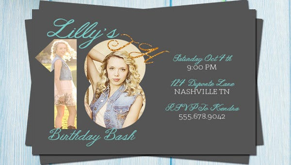 58+ Sample Birthday Invitation Templates - PSD, AI, Word | Free ...