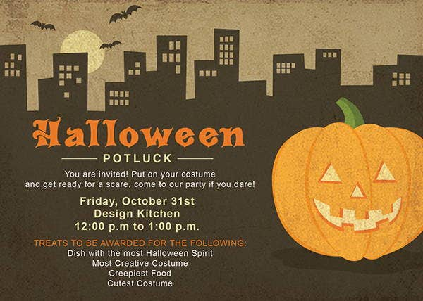 halloween-potluck-invitation