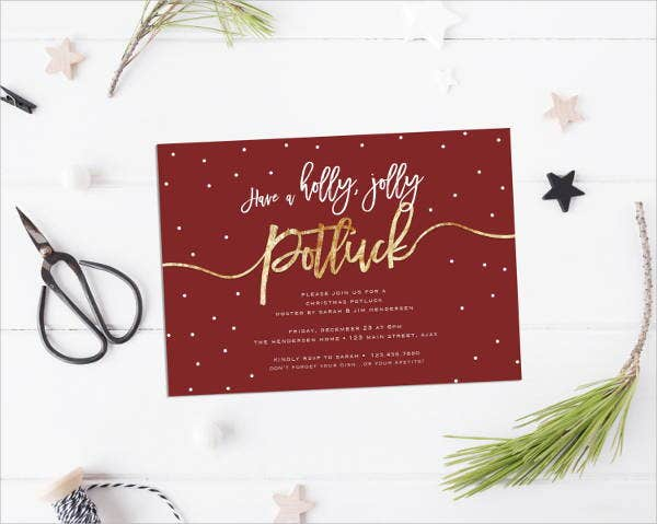 christmas-potluck-invitation