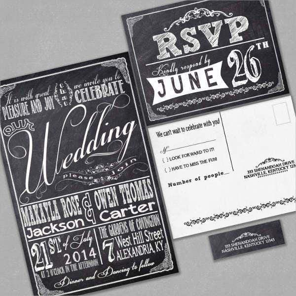 Wedding Invitation Address Label