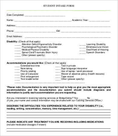 therapy intake form template - 100 images - therapy intake form ...