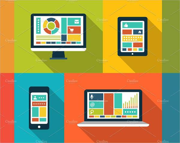 flat-design-gadget-icons