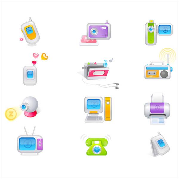 trendy-gadget-icons