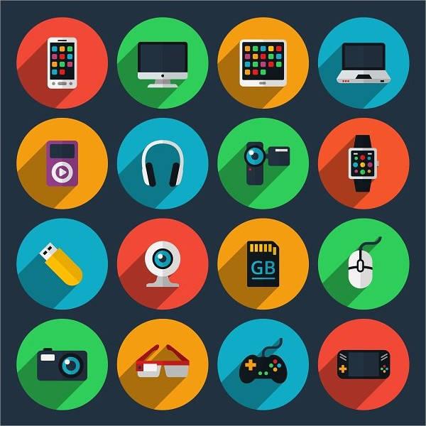 gadget-flat-icons