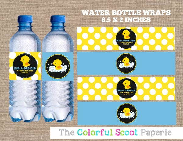 6 baby bottle labels psd vector eps free premium for Bubble bottle label template