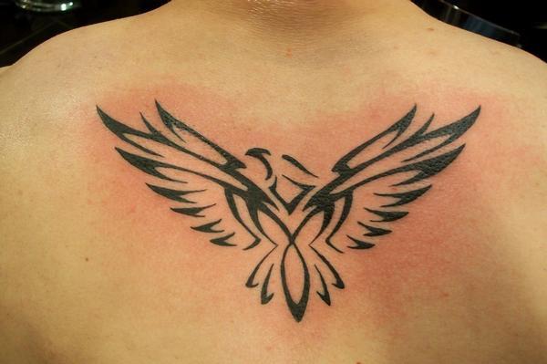 Tribal Bird TattooTribal Bird Tattoo