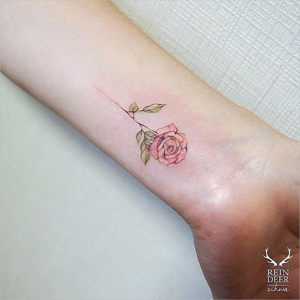 rose-tattoo-on-wrist