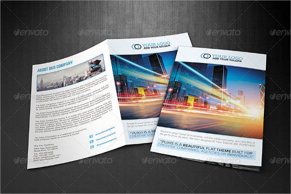 A4 Business Brochure