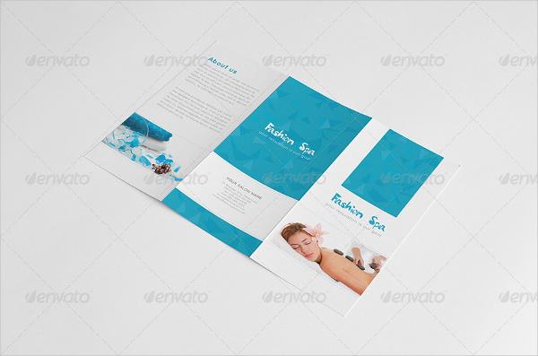 Spa A4 Brochure