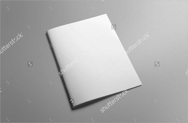 Blank A4 Brochure
