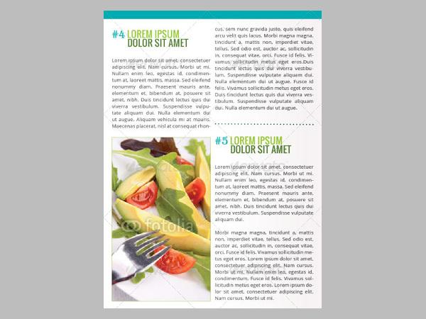 Healthy Life A4 Brochure