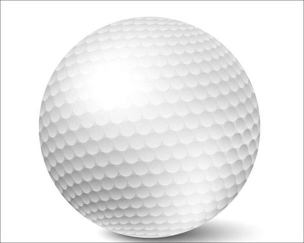 golf-ball-vector