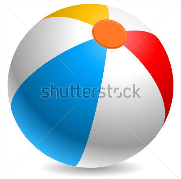 beach-ball-vector