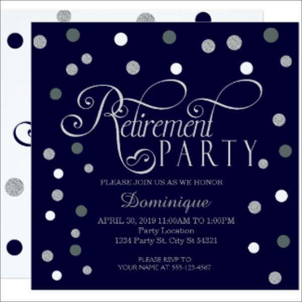 retirement party event invitation1