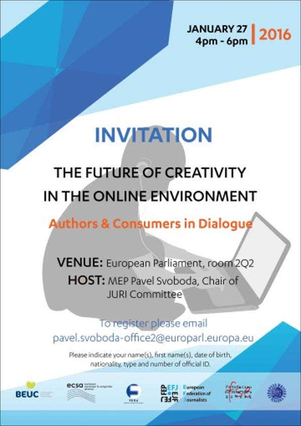 corporate work event invitation