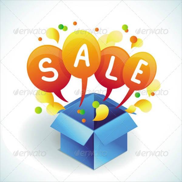 banner sales vector