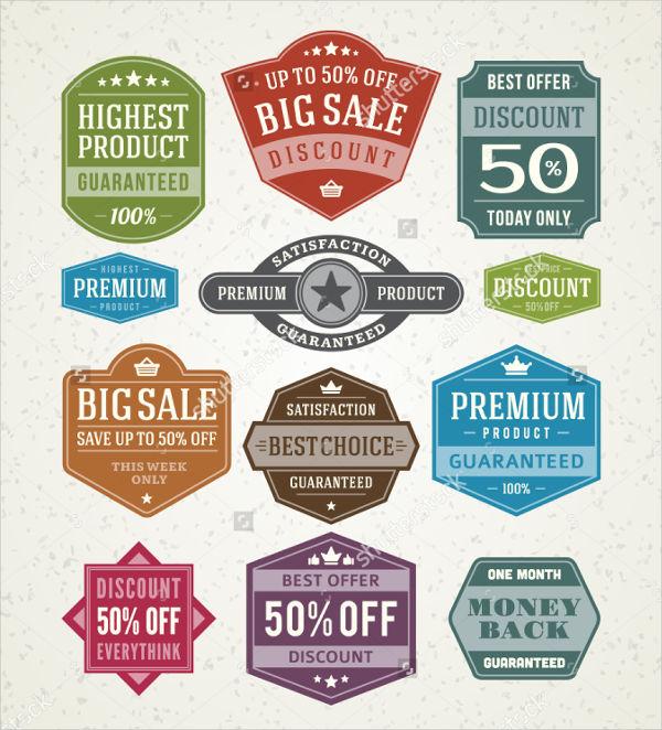 vintage sales vector