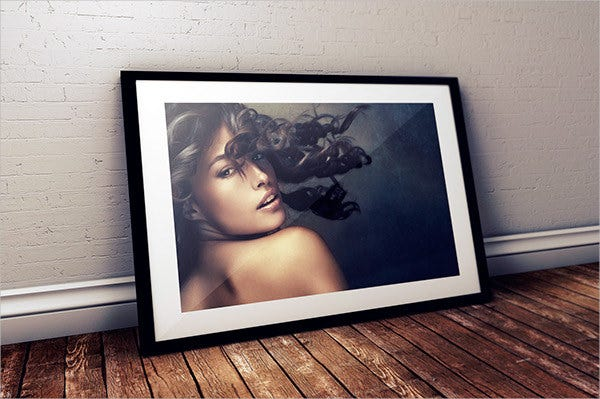 studio frame mockup