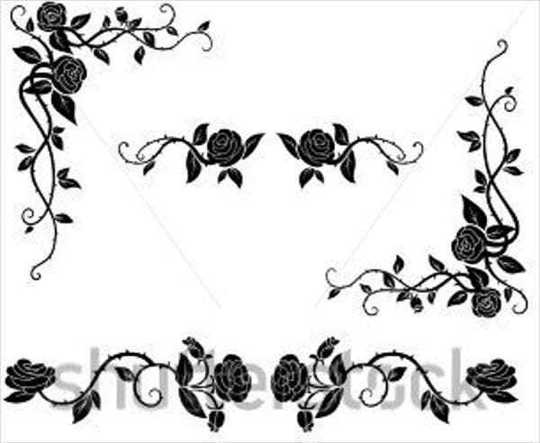 rose-vine-vector