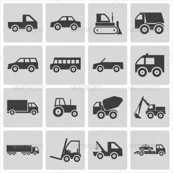 vector-vehicle-icons