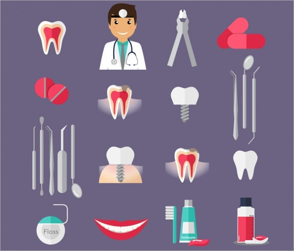 dental-clinic-icons
