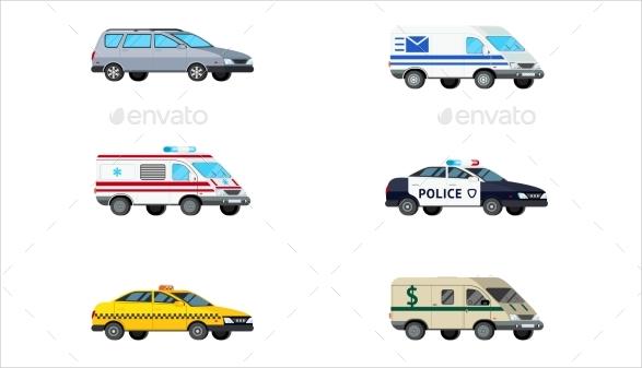 motor vehicle icons