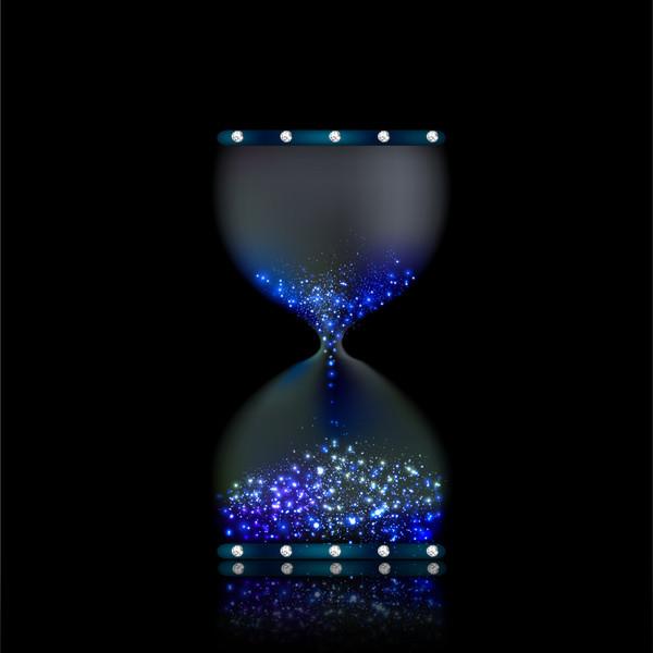 Sand Timer Clock Vector