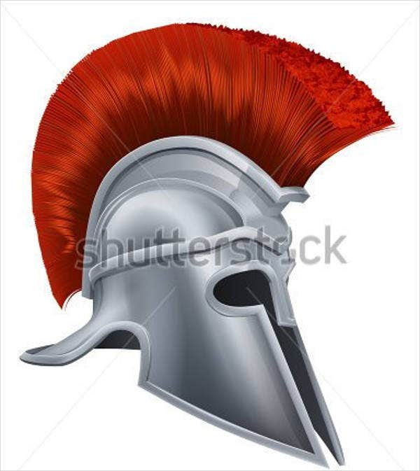 greek-helmet-vector