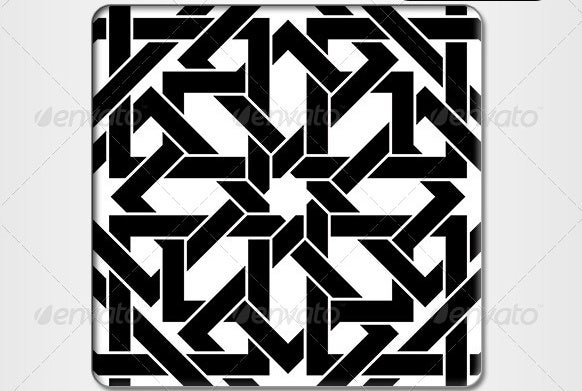 black-and-white-moroccan-pattern