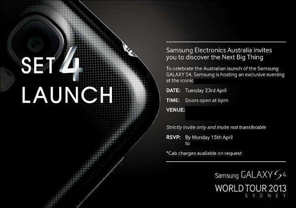 official launch event invitation